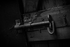 The Bolt (stujfoster) Tags: mono farm shed urbex gritty urban uk england