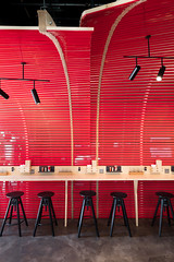 Ebisoba (dennis lo designs) Tags: substance awork dennis lo designs interior modern japanese noodle bar restaurant fnb eatery dining lunch hong kong china wood red lighting moody professional branding