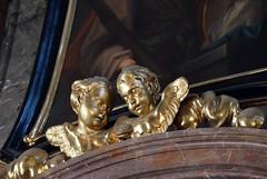 Prag-St.Nikolaus 4 (fotomänni) Tags: prag praha prague kirche church eglise stnikolaus sakralfotografie sakralekunst skulptur skulpturen sculpture manfredweis