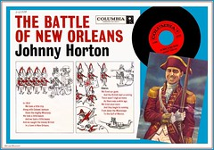 Johnny Horton - The Battle of New Orleans (StarRunn) Tags: johnnyhorton battleofneworleans columbiarecords record recordsleeve music 45 45rpm song