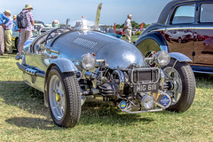 Pembleton (StevePilbrow) Tags: pembleton 3 wheeler 2016 chrome vintage classic sports car show flywheel festival raf bicester heritage centre june 2018 nikon d7200 nikkor 18105mm