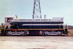 Indian Hill & Iron Range 302 Aug61 (jsmatlak) Tags: chicago railroad indian hill iron range freight car dumper slag train