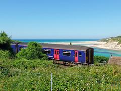 150219 Lelant (1) (Marky7890) Tags: gwr 150219 class150 sprinter 2a33 lelant railway cornwall stivesbayline train