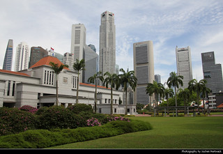 Parliament House & Skyline, Singapore