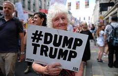 Dump Trump ! (alisdare1) Tags: donaldtrump visit britain theresamay uspresident americanpresident demonstration march rally protest london potus trump humanrights justice unitedkingdom specialrelationship fujixpro2 fujifilm xpro2 16mmf14 fuji16mm fujix nwoglobalists