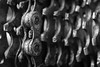 Bicycle gears#HMM (Rob Schop) Tags: bicyclechain extensiontube10mm sonya6000 bw macromondays sigma30mm14 transport