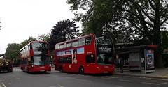 Arriva London South T89 LJ59LZK | 417 to Clapham Common (Unorm001) Tags: red london double deck decks decker deckers buses bus routes route diesel hybrid electric dieselelectric battery batteryelectric hybridelectric t89 hv319 lk17 aju lj59lzk lj59 lzk lk17aju 417 t 89 hv 319