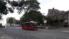 Abellio London 8347 YX66WFH   P13 to New Cross Gate (Unorm001) Tags: 8347 yx66wfh yx66 wfh p13 red london single deck decks decker deckers buses bus routes route diesel