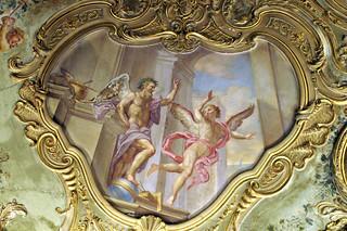 Genova, Piazza De Ferrari 4, Palazzo Doria De Fornari , Fresko (fresco) (3)