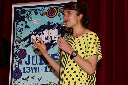 Zahra Barri at Hastings Fringe Comedy festival 2018