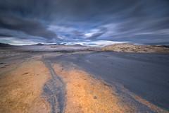 Mosaic (Sizun Eye) Tags: geotermal volcano krafla hverir mudpool iceland mud sizuneye landscape nikond750 nikon1424mmf28 nikkor 1424mm nikon nisifilters leefilters le longexposure poselongue cloudscape volcanic