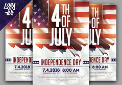 4th of july Flyer (lobaide) Tags: 4th july fourt 4thofjuly flyer template flyertemplate eventflyer independenceday american americaevent flagday patriotday veteransday abstract grunge poster posterdesign mockup celebration