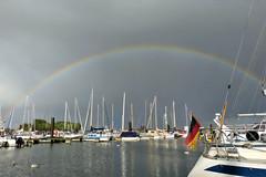 Regenbogen (natterjack3) Tags: rainbow regenbogen burgstaaken fehmarn