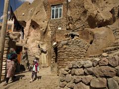 PA126635 (bartlebooth) Tags: iran kandovan osku eastazerbaijanprovince fairychimney troglodytevillage persian iranian architecture olympus e510 evolt silkroad middleeast mountains village walnuts