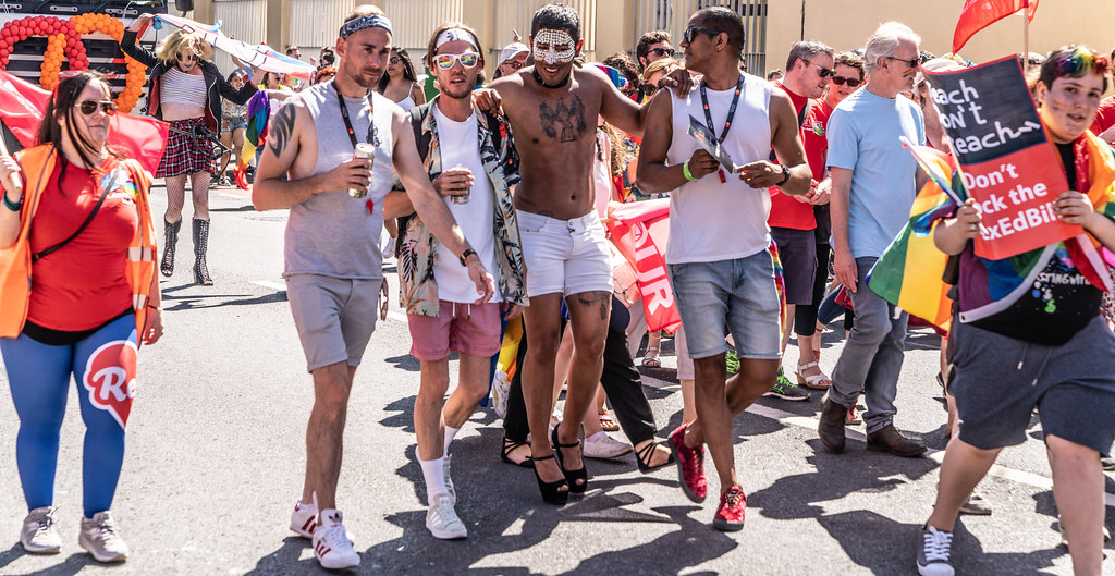 ABOUT SIXTY THOUSAND TOOK PART IN THE DUBLIN LGBTI+ PARADE TODAY[ SATURDAY 30 JUNE 2018] X-100215