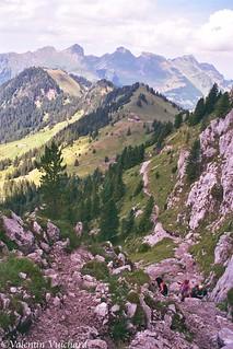 SF__24_00147 - View on the Brendelspitz and the Soldatenhütte, Gastlosen - Switzerland