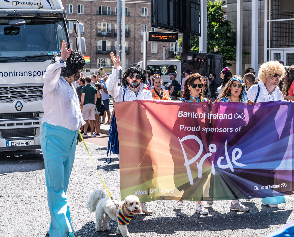 ABOUT SIXTY THOUSAND TOOK PART IN THE DUBLIN LGBTI+ PARADE TODAY[ SATURDAY 30 JUNE 2018] X-100250