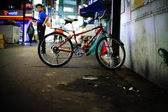 2218/1955 (june1777) Tags: snap street seoul night light canon eos 5d nikon nikkor 50mm f12 ai 1600 clear bokeh