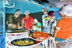 India - Karnataka - Mysore - Food Stall - 224bb (asienman) Tags: india karnataka mysore foodstall asienmanphotography asienmanphotoart asienmanpaintography friedfish