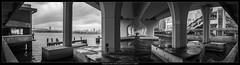 20170421-133713-GM5-Pano (YKevin1979) Tags: lumix panasonic panasonic20mmf17 20mm 20 f17 gm5 dmcgm5 mft microfourthird panorama 全景 黑白 blackwhite blackandwhite bw kwuntong 觀塘 觀塘碼頭