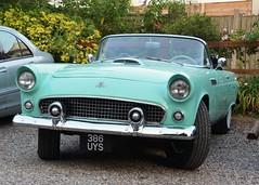 1955 Ford Thunderbird (Stuart Axe) Tags: ford thunderbird fordthunderbird 1955 convertible car americancar uk classiccar classic england unitedkingdom gb greatbritain 386uys