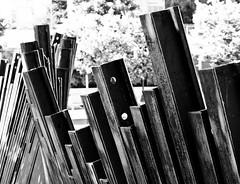 Tanner Springs Sidewalk Beams Sculpture 1 of 2 (Orbmiser) Tags: olympusmscedm60mmf28 macro mirrorless olympus oregon portland m43rds beams sculpture sidewalk