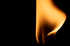 Come una ballerina sulle punte (LaSagra) Tags: macrofriday black background flame dancer ballerina fiamme sera night