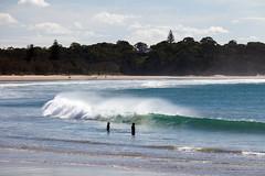 Woolgoolga town beach (Mikey Down Under) Tags: australia beach children coast coffs kids northcoast northern nsw playing townbeach wave woolgoolga