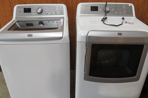 Maytag Bravos XL Washer and Dryer ($840.00)
