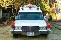 But, Doc Dan, you ain't got no legs (dangr.dave) Tags: mckinney tx texas downtown historic architecture collincounty diamond ambulance car