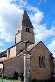 Saint-Martin-du-Tartre (71) - église Saint Martin de Tours