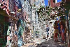 Magic Gardens (jpellgen (@1179_jp)) Tags: magicgardens philly phl philadelphia eastcoast 2018 summer nikon sigma 1770mm d7200 art museum artmuseum mosaics mosiac isaiahzagar zagar publicart streetart contemporaryart