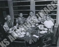 943- 5556 (Kamehameha Schools Archives) Tags: kamehameha archives ksg ksb ks oahu kapalama luryier pop diamond 1955 1956 most beautiful lei day table