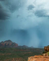 The Monsoon Approaches (johnny4eyes1) Tags: landscape redrocks downpour valleys rocky mountains thunderstorm monsoon clouds redrockcountry wild sedona cloudburst cloudporn travel geology mist rainy environment desert rain arizona verdevalley nationalgeographic