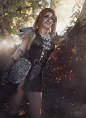 Skyrim: Aela Cosplay [ Japan Expo 2018 ] (junkeephotography) Tags: skyrim skyrimcosplay cosplayer cosplay cosplays cosplayers cosplaygirl armorgirl evafoam sunlight portrait smoke forest shooting sunray sun girls badass france paris japanexpo japan expo effect effet personne girlphotography photography photoportrait eos canon sigmaart artist foret photoshop fx convention parcexpo parcexposition 2018 japanexpo2018 jungle elderscroll elderscrollcosplay invisible girlportrait naturallight light natural nature naturel sexycosplay armorcosplay armor foam huntress hunter warrior archer archery gamecosplay gamingcosplay gaming shiny paysage aela aelacosplay props craft worm homemade