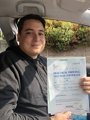 Massive congratulations to Luis Fernando Iannello Lejarazo passing his driving test on his first attempt with only 5 minor faults.   www.leosdrivingschool.com