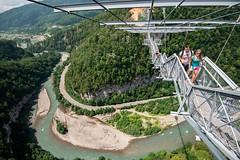 sky bridge in skypark sochi Russia (trinh_huong_ocean) Tags: sochi russia russian olypics winter olympics