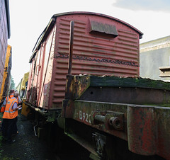 783354 Avon Valley Railway 030618 (Dan86401) Tags: avr avonvalleyrailway 783354 b783354 vwv vanwide br ventvan wagon freight ventilatedvan