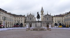 Piazza San Carlo (glynspencer) Tags: torino piedmont italy it