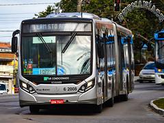 6 2008 TUPI - Transportes Urbanos Piratininga (busManíaCo) Tags: caioinduscar tupitransportes mercedesbenz tupi transportes urbanos piratininga millennium iv articulado o500ua bluetec 5