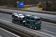 MB Actros MP4 - Tradisa LogicAuto S.L. (E/RO) (T.I.R. - Spotting) Tags: truckspotting spottingtrucks trucks vrachtwagens lkw lorry lastbilar transporte spedition logistic lojistik autobahn autostrade highway trucking lover hobby spotting fotograf trucker lastwagen tir kamyon camion comercialvehicles comercialtrucks zakenvanvervoer bedrijfswagens bedrijfwagens lastbil transport haulage cargo europe foto picture tradisa romania spain mercedes benz actros mp4 car transporter autotransporter euro lohr