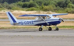 G-COVZ (goweravig) Tags: gcovz reims cessna f150m visiting aircraft swansea wales uk swanseaairport