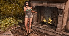 Look 122 (мαчєℓαι ηєιѕѕєя) Tags: clothes dafnis summer hair curly legs girls woman fashion second life avatar virtual world sensual secondlife blog blogger photography picture blogging art maitreya catwa