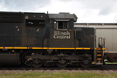 Engineer's Side (Railfan Dan) Tags: cn canadiannational ic illinoiscentral ic1032 m338 dubuquesub dubuquesubdivision lenailtrains lenaillinoistrains icdeathstar