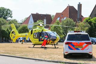 Dutch police Volkswagen and ambulance lifeliner