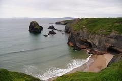 No rough stuff today (S Collins 2011) Tags: grass landscape sea green coast bay sky water rock ocean cokerry ireland ngc