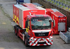 WX18 WAO (Ben Hopson) Tags: primemover north wales fire rescue service nwfrs welsh new 2018 high volume pump hvp prime mover 18plate angloco public footpath man wx18 wao wx18wao