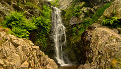 WATERFALL CARDING MILL VALLEY (chris .p) Tags: nikon d610 view cardingmillvalley shropshire england summer 2018 viewpoint uk nt nationaltrust june