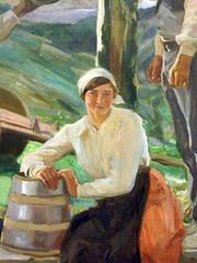 Vision of Spain by Sorolia, detail (skaradogan) Tags: visionofspain joaquin sorolla y bastida hispanicsociety newyorkcity museum painting