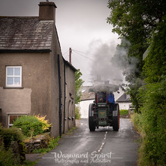 20th June 2018 (Rob Sutherland) Tags: bouth southlakes lakes lakeland lakedistrict traction engine tractor steam cumbria cumbrian old fashion fashioned vintage vehicle transport agriculture agricultural road village england english uk britain british